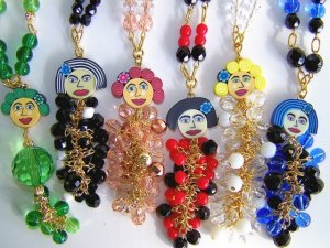 "Kristy Lee ""Girlfriends"" necklaces"