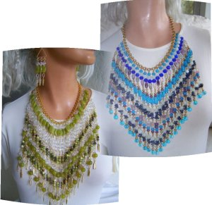 Bib necklaces