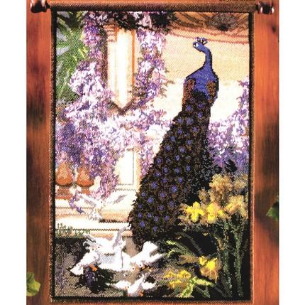 Peacock and Doves Garden